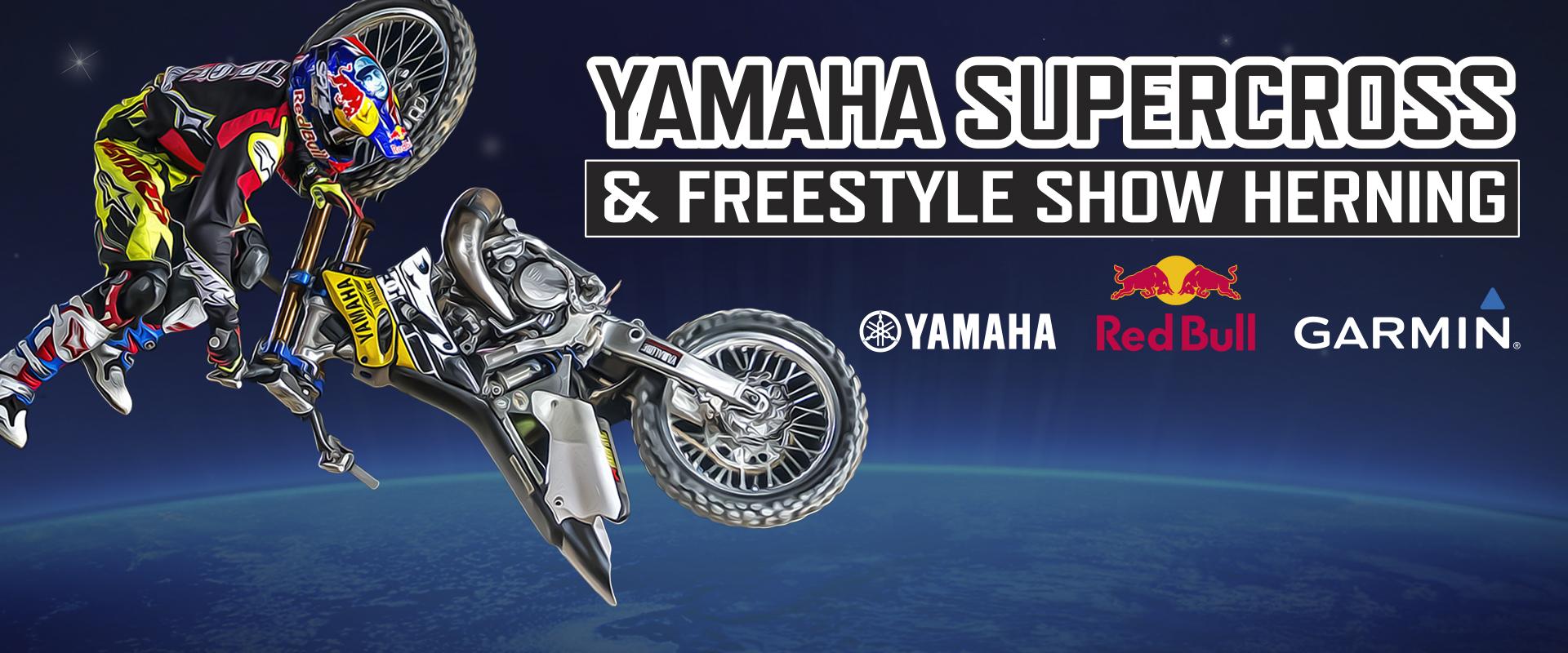 yamaha supercross freestyle show mch jyske bank boxen. Black Bedroom Furniture Sets. Home Design Ideas