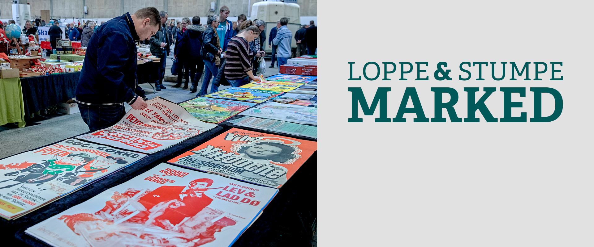 Loppe- og stumpemarked