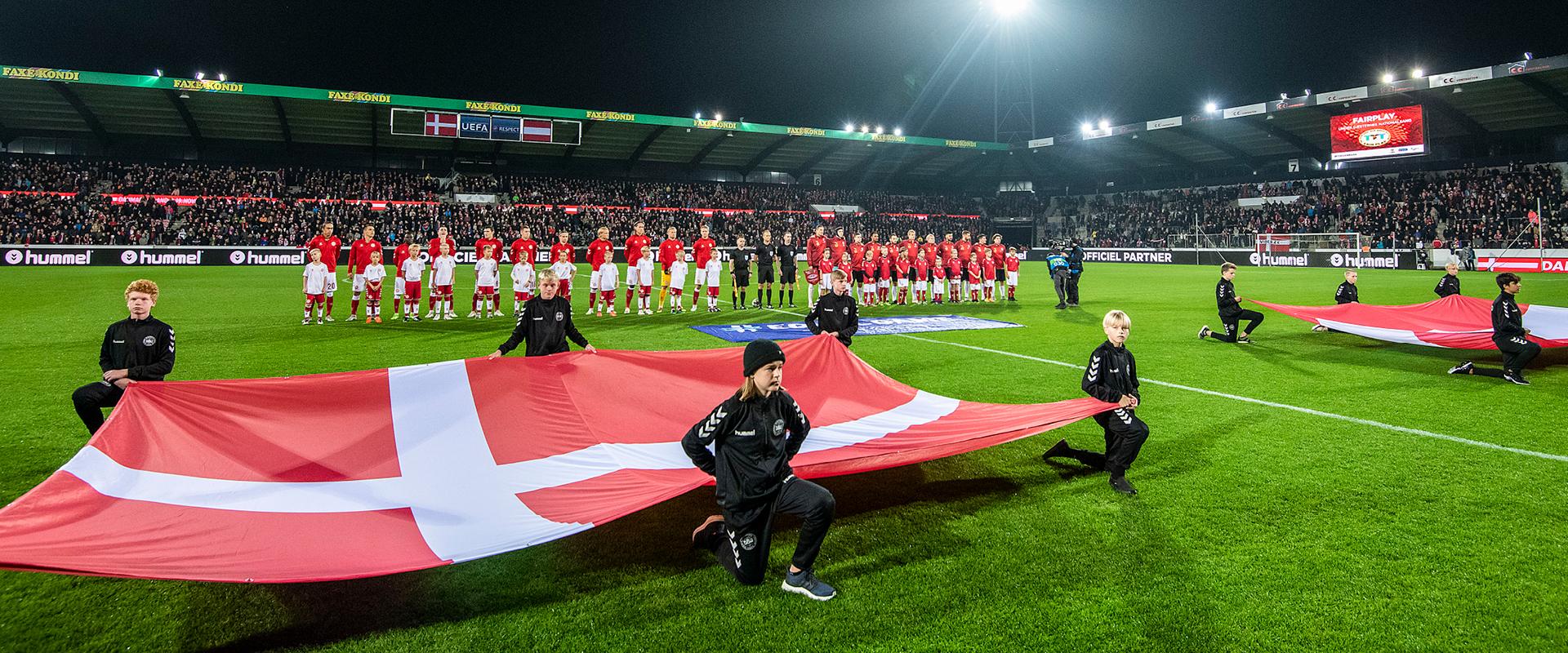 Landskamp 2020 - Danmark - Færøerne - MCH Arena